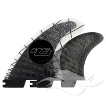 FCS II HS PC Carbon Large Tri-Quad Retail Fins