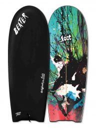 Catch Surf Beater Orginal 5'4 Twin Fin Lost Black