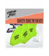 Catch Surf Hi-Perf Safety Edge Tri Fin Lime