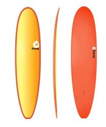 Torq Longboard Full Fade Red Orange 8'0""