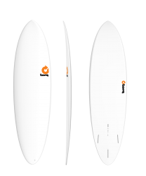 Torq Funboard White